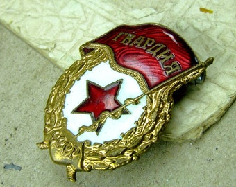 Rare Vintage Military Pin - f134