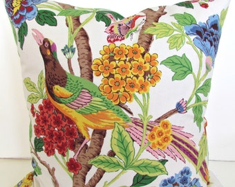 RED PILLOWS Yellow  Decorative Throw Pillows Green 20 x 20  Blue Orange Throw pillow covers Bird Butterfly .Sale. Home and Living