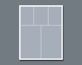 INSTANT DOWNLOAD - Photographers Template, Storyboard, Blog Board - 16 x 20 - No.6