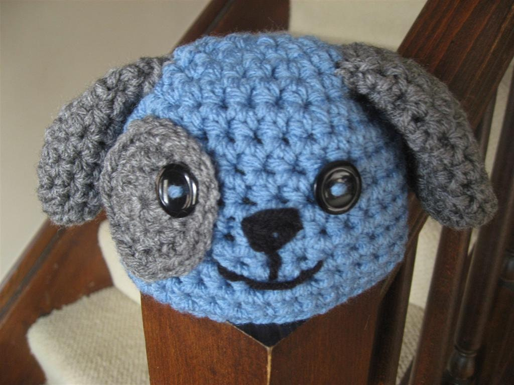 Crochet Pattern For Baby Dungarees : CROCHET PATTERN: Puppy Dog Hat. Baby Hat. Photo by HdCDesigns