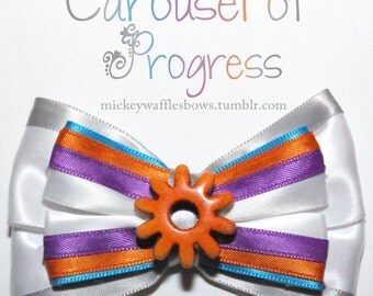 Carousel of Progress Hair Bow