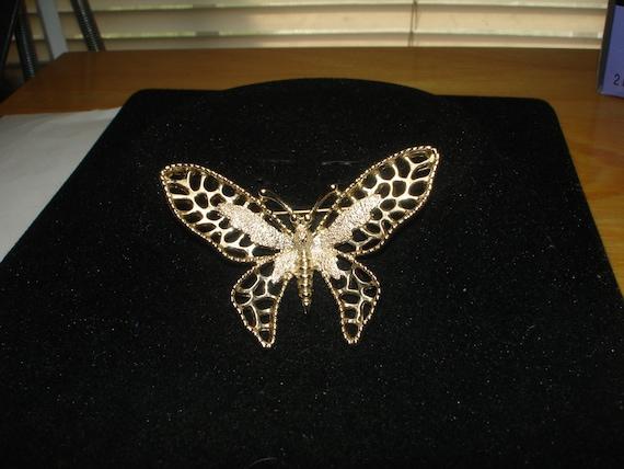 Sarah Cov Butterfly Brooch
