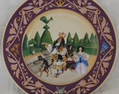 Reduced: 2 Limited Edition Heinrich French Fairy Tale Collector Plates
