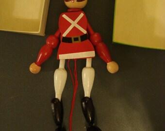 Vintage Puppet German Pantin Toy Beefeater