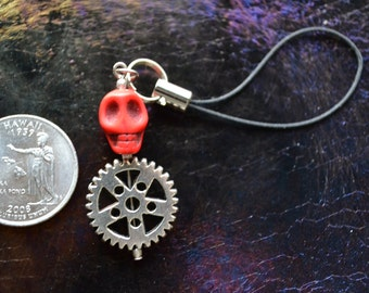 DethKlok Inspired Cellphone charm, great for USBs, MP3s, anything with a loop.