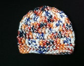 "Crochet beanie- size ""infant"""