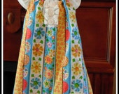 Reclaimed Upcycled Peasant Dress Size 12-18 months