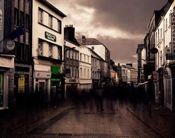 Moody Street Photography - Galway Ireland - Urban Photography - Limited Edition Print - 8x12, 12x18, 16x24, 20x30, 24x36