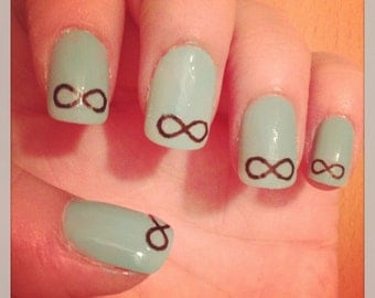 Infinity Nail Decals