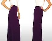 Plum Maxi Skirt - SarahLMeyers
