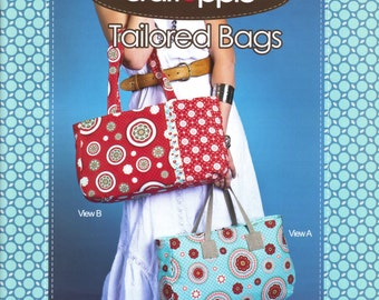Pattern TAILORED BAGS Sewing Pattern by Craft Apple