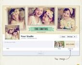 INSTANT DOWNLOAD - FB8 Facebook timeline cover