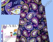 A-Line reversible paisley Outfit