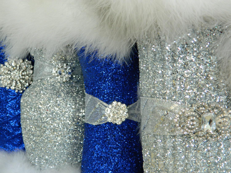 Wedding decoration glitter wedding centerpieces by kpgdesigns