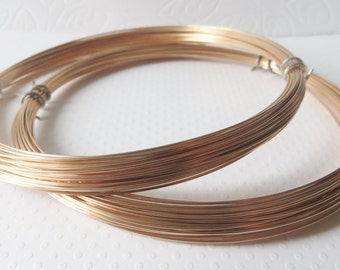 Phosphor Bronze Wire, 20 gauge, Half Hard Temper for Wire Wrapping, 50 Feet