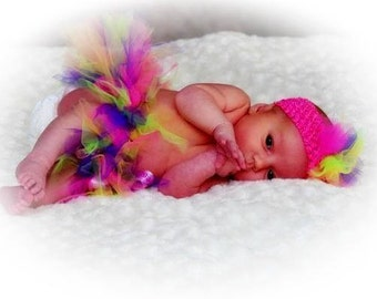 Multicolored New Born Tutu