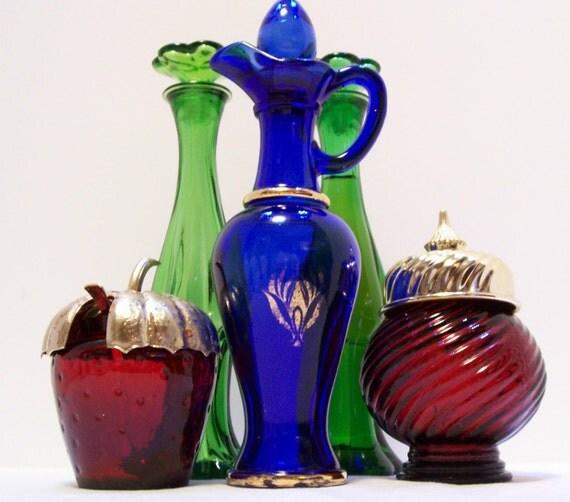 Avon, Cobalt Blue Bottle, Collectible Bottles, Perfume Bottles, etc, Pick 2 for 10.00