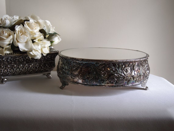 Godinger Silver Plated Cake Stand