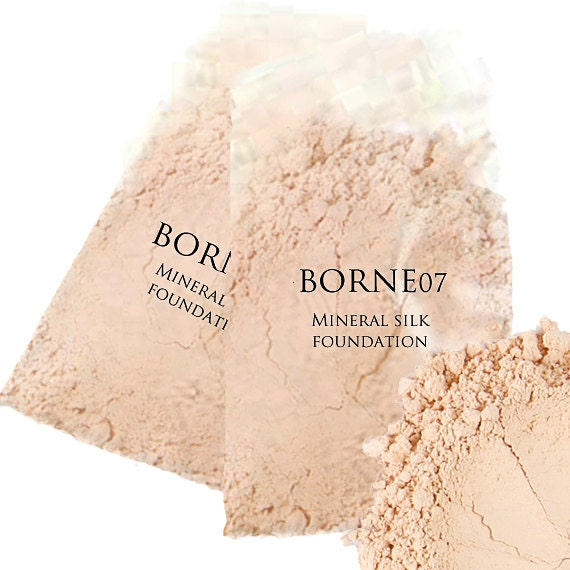 Mineral Makeup Foundation TWO (Huge Sample Sizes) - Organic Silk Mineral Foundation - NEW SHADES!