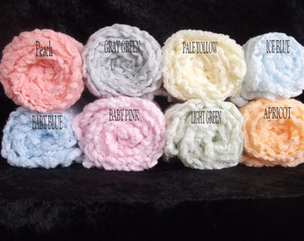 Set of Five Cheesecloth Photography Props.Newborn photo props.. Cheesecloth wraps.Hand Dyed cheesecloth.