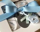 Baby Boy Onesie Cupcakes Gift, size 6 mos.