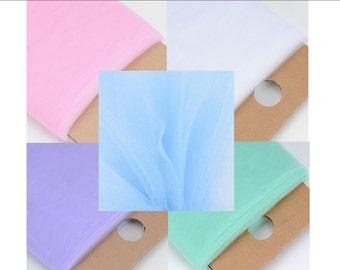 1 metre - Tulle - Soft - Wedding / Decorating / Craft / Tutu