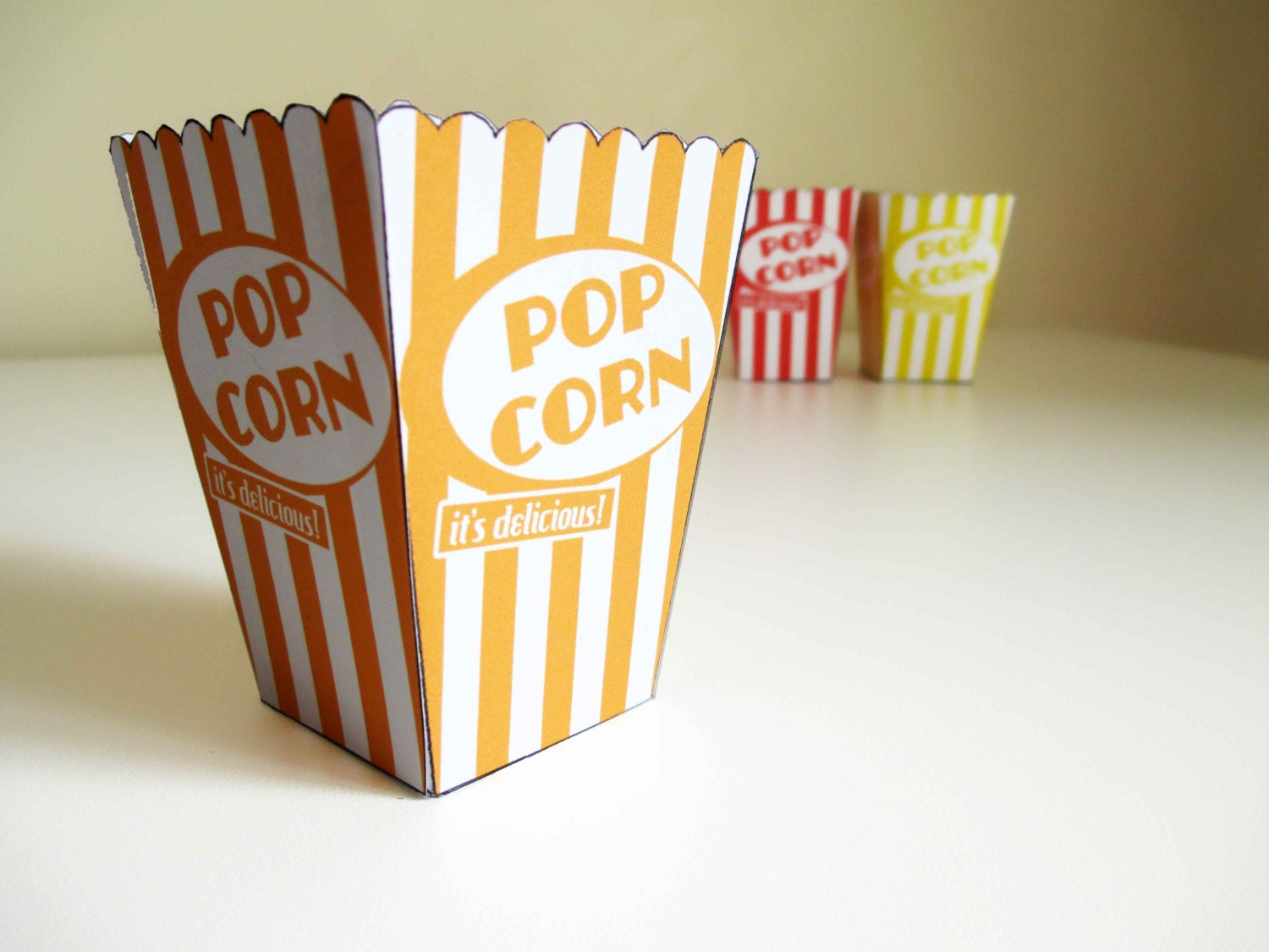 It's just an image of Handy Printable Popcorn Box