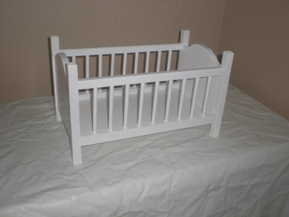 Baby Crib For Bitty Baby American Girl Doll Or Other Small