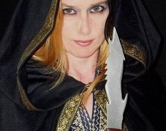 Gothic Primitive Medieval Fantasy Dagger - OOAK