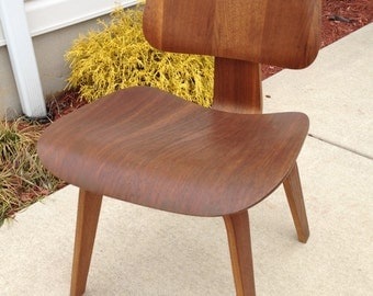 1947 Charles Eames DCW Chair Evans Production Full label Beautiful