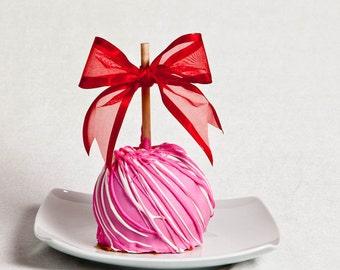 Strawberry Kissed Caramel Apple