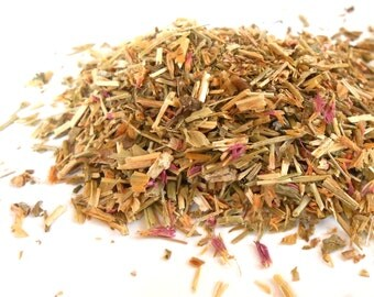 Organic CENTAURY HERB - Centaurium Erythraea - Wild Succory - Long History of Traditional Use - Tea, Incense, Bath