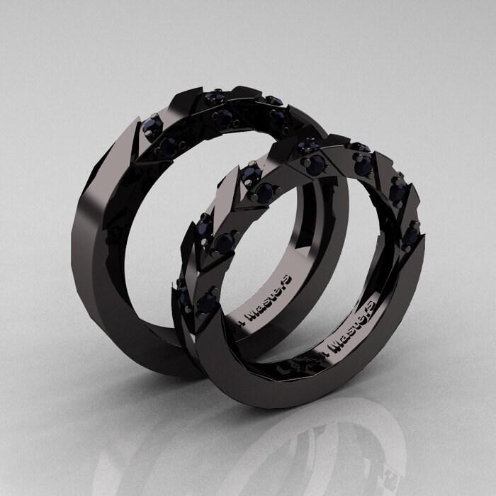 black gold wedding rings wedding design ideas