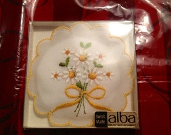 Vintage Scented Sachet Swiss Made by Alba