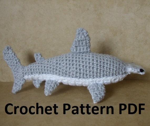 Hammerhead Shark Amigurumi : Any amigurumi experts? A question about colors... : crochet