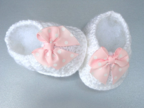 Baby Shoes Girl Baby Booties Crochet Newborn Baby by ...