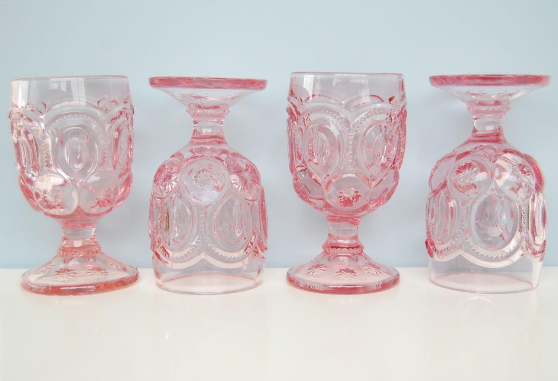 Vintage Glass Goblets 64