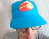 Flippin awesome vintage neon hat