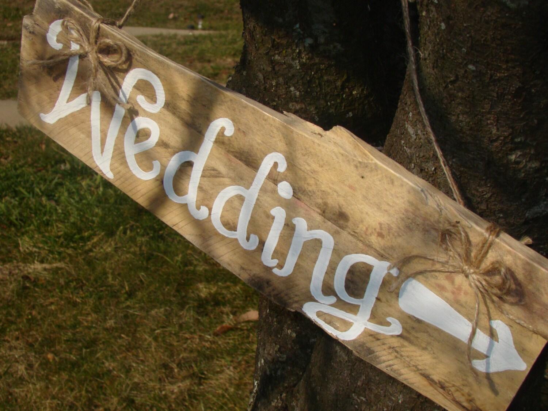 Custom Rustic Vintage Wooden Wedding Sign By Maryandjack On Etsy