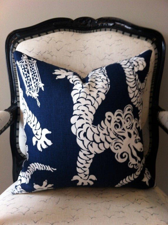 Lilly Pulitzer Tail Lights - Navy Blue & White