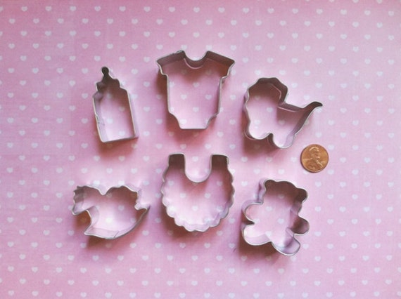 baby cookie cutter set mini baby fondant cutters mini baby shower