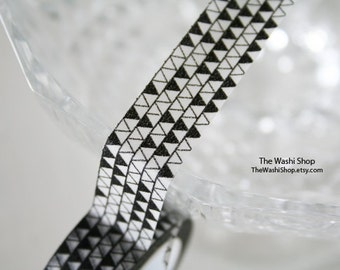 Black Triangle Washi Tape