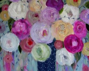 20x20 Print--Spring Blossoms