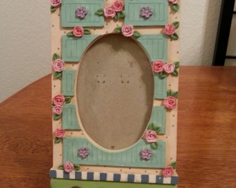 Cute Floral Picture Frame