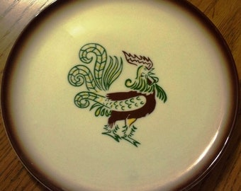 Brock California Rooster Plate