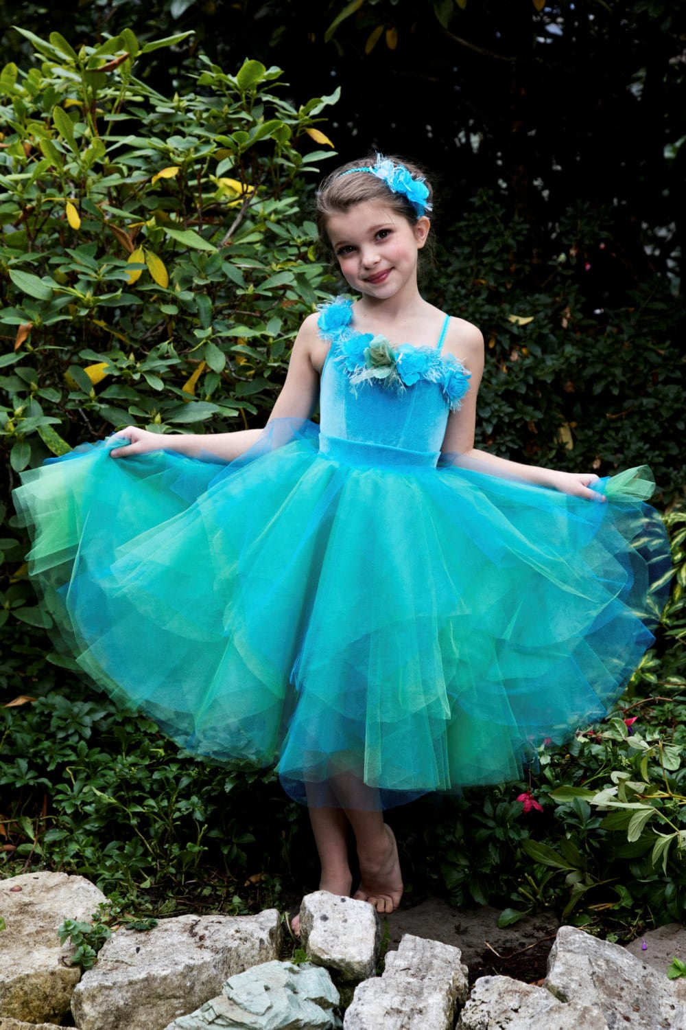 Silvermist Fairy Tutu Dress Costume