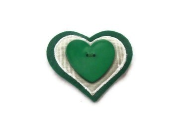 Womens Green Jacket Pin, Ladies Accessory.  CLEARANCE SALE