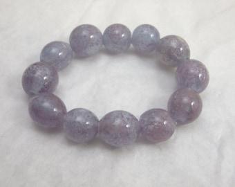 Purple-licious Lampwork beads