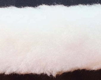 """Fur Trim - White (Slightly Off-White) 1 1/2"""" in Wide Fur Trim Trimming By the Yard 2212H-9i"""