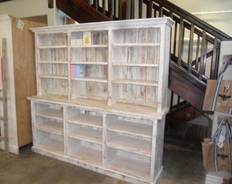 BOOKCASE from reclaimed wood USA made